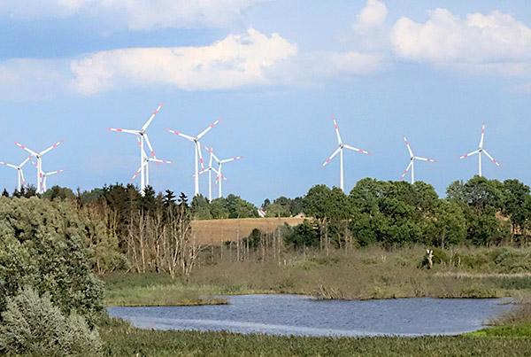 Windpark Grünberg (Wallmow), <br>Brandenburg
