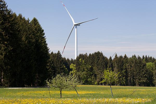 Windparks Reichertshüll und Workerszeller Forst, Bayern
